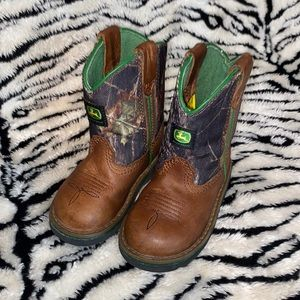 John Deere Cowboy Boots Infant Sz 5 1/2M